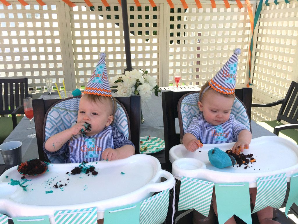 Twins First Birthday | wearenotmartha.com