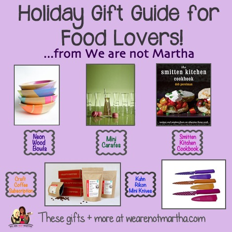 2012 Holiday Gift Guide For Food Lovers