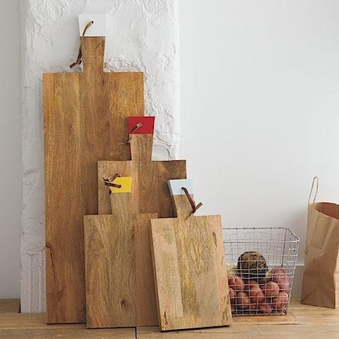 West Elm Raw Wood Boards