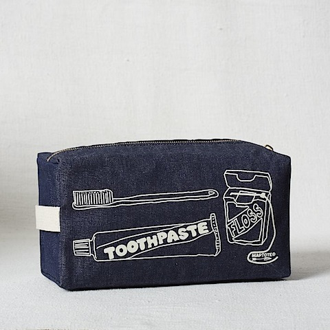 West Elm Maptote Dopp Kit