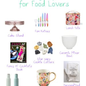 2019 Holiday Gift Guide for Food Lovers -- Looking for the perfect holiday gift for all the foodies and food lovers in your life? We are not Martha'a 2019 Holiday Gift Guide for Food Lovers is here!   wearenotmartha.com