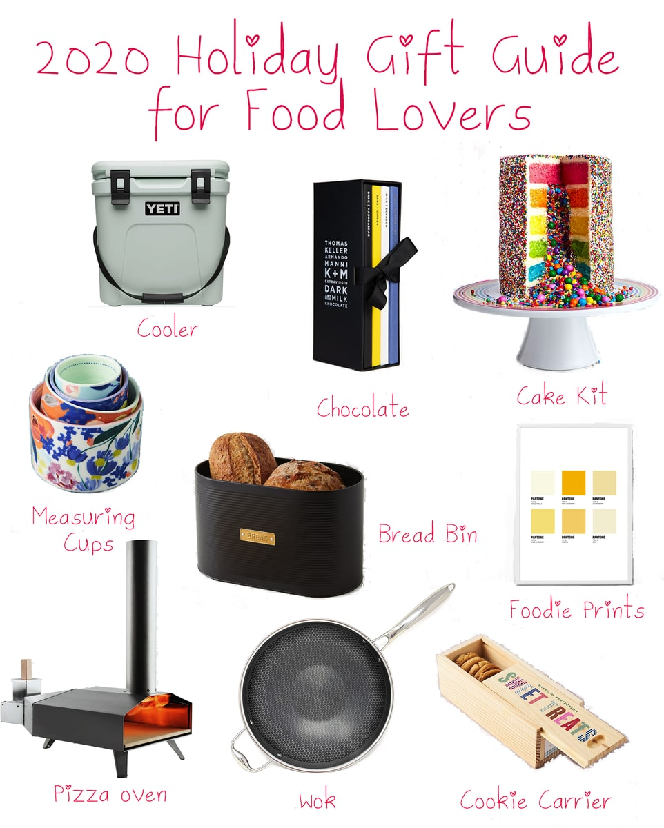 2020 Holiday Gift Guide for Food Lovers
