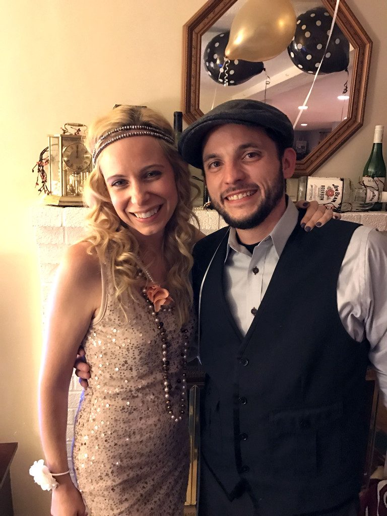 1920s Halloween Party | wearenotmartha.com