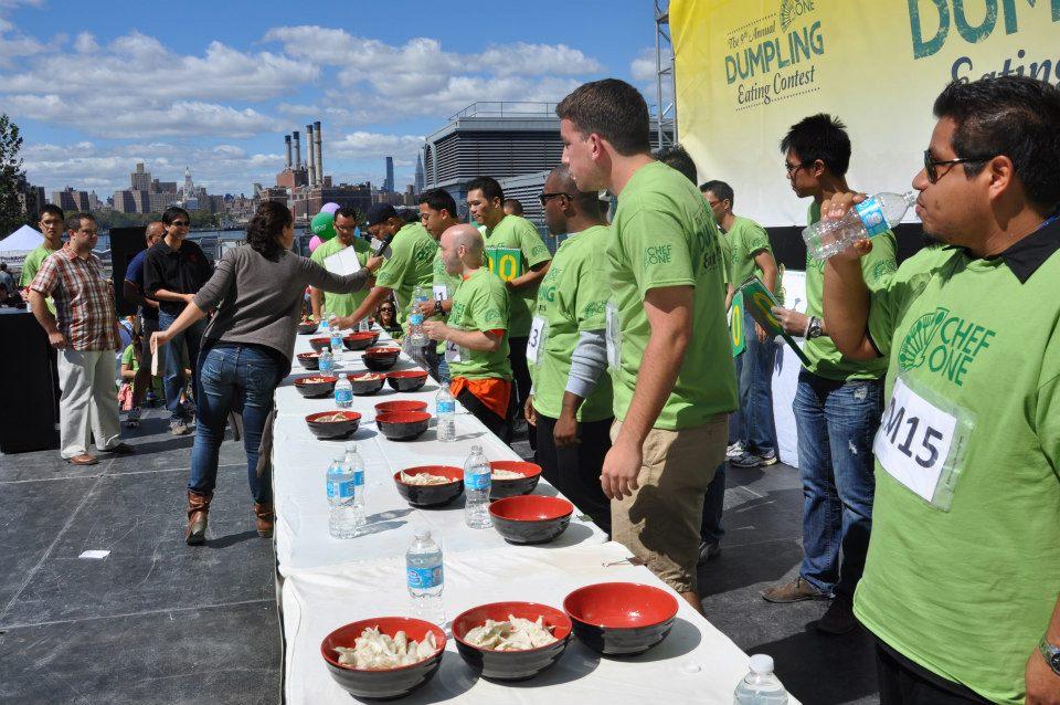 2015 NYC Dumpling Festival | wearenotmartha.com