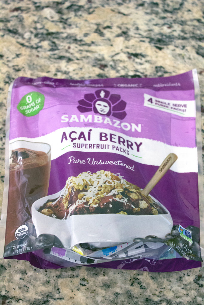 Frozen Acai Smoothie Packs Whole Foods