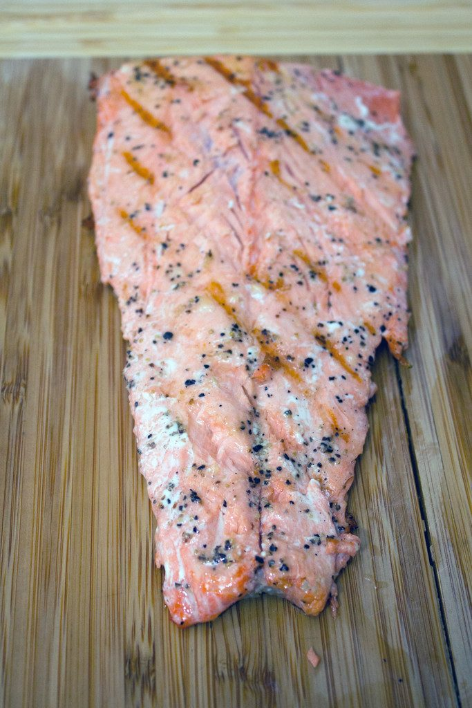 Grilled Alaskan Salmon | wearenotmartha.com