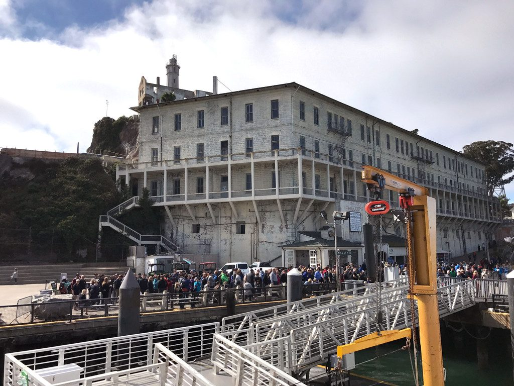 San Francisco and Wine Country Trip -- Alcatraz | wearenotmartha.com