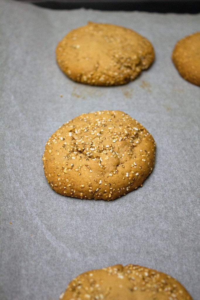 Amaranth Cookies Baked