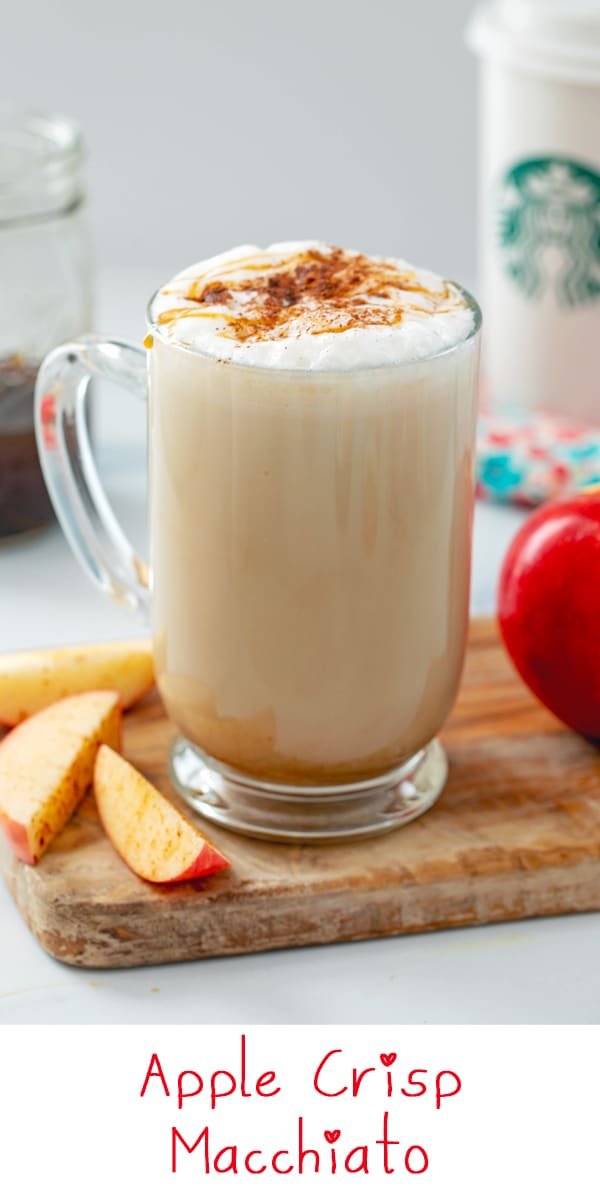 Apple Crisp Macchiato {Starbucks Copycat}