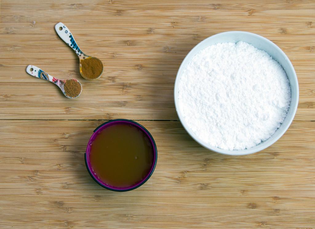 Apple Fritter Glaze Ingredients