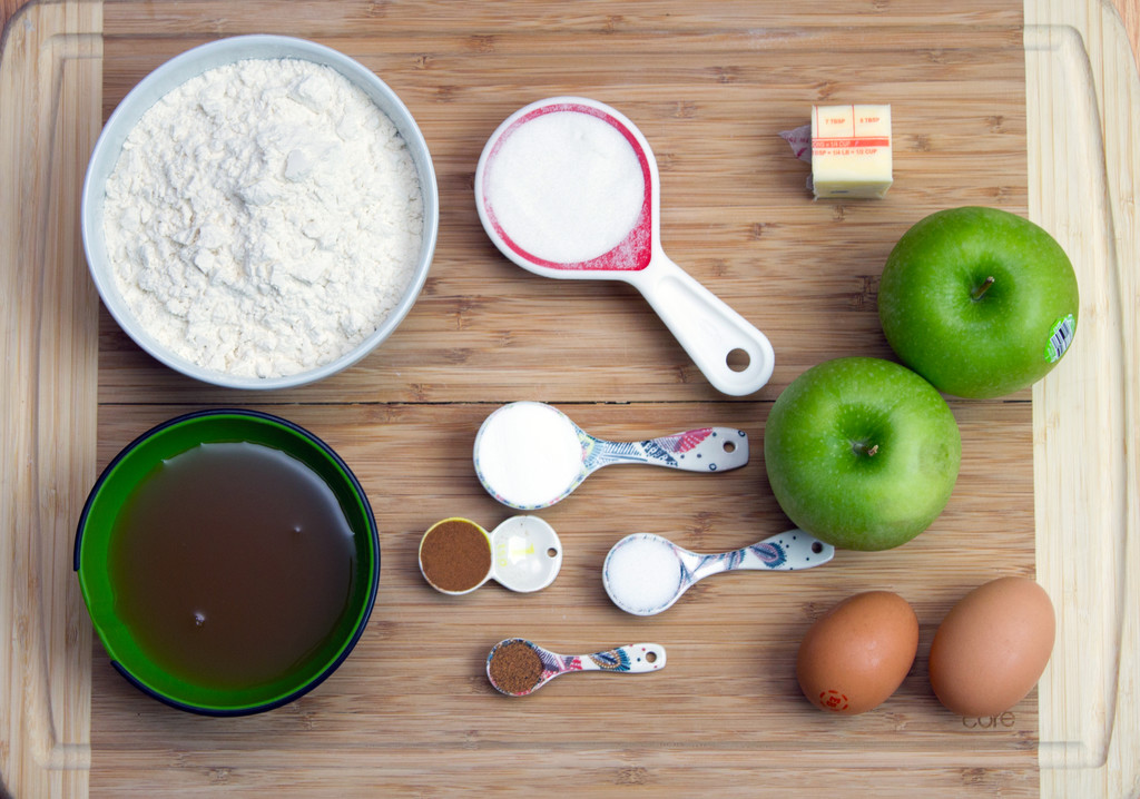 Apple Fritters Ingredients