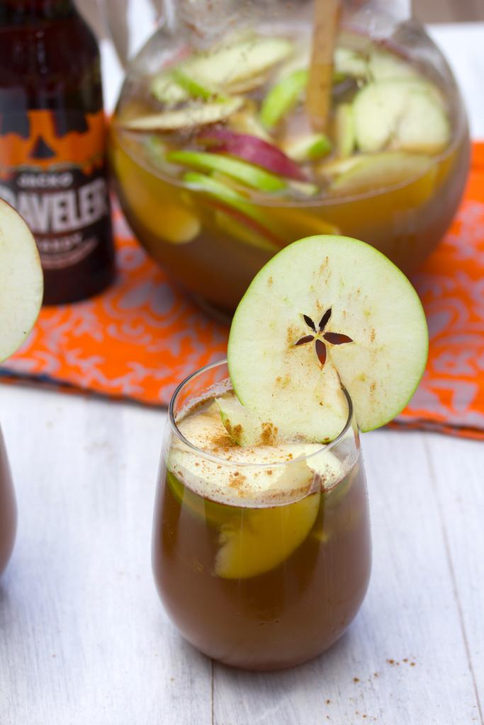 Apple Pumpkin Shandy Sangria 2
