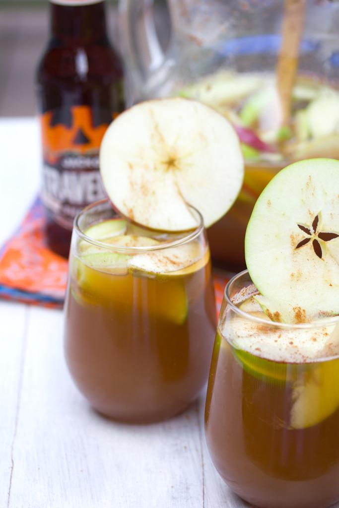 Apple Pumpkin Shandy Sangria 3