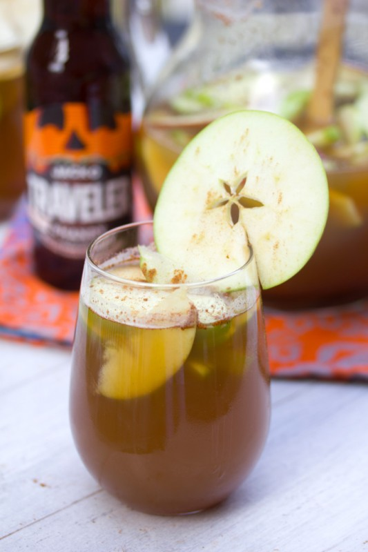 Apple Pumpkin Shandy Sangria