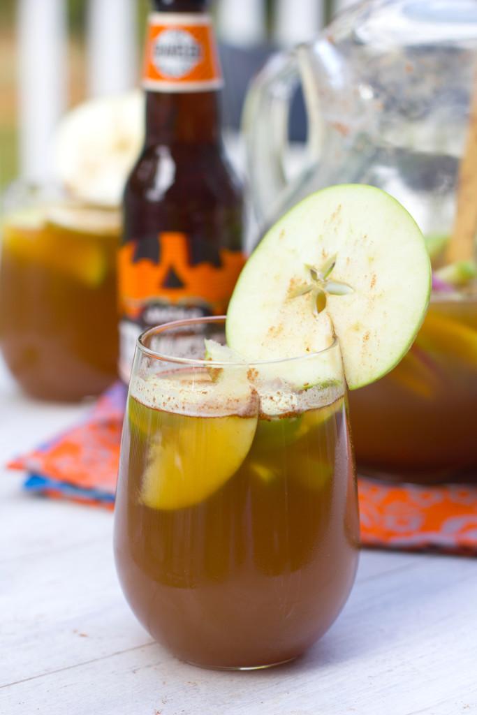 Apple Pumpkin Shandy Sangria 8