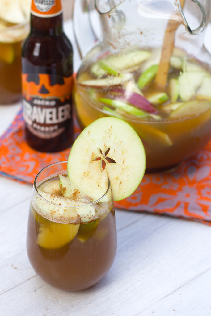 Apple Pumpkin Shandy Sangria - We are not Martha