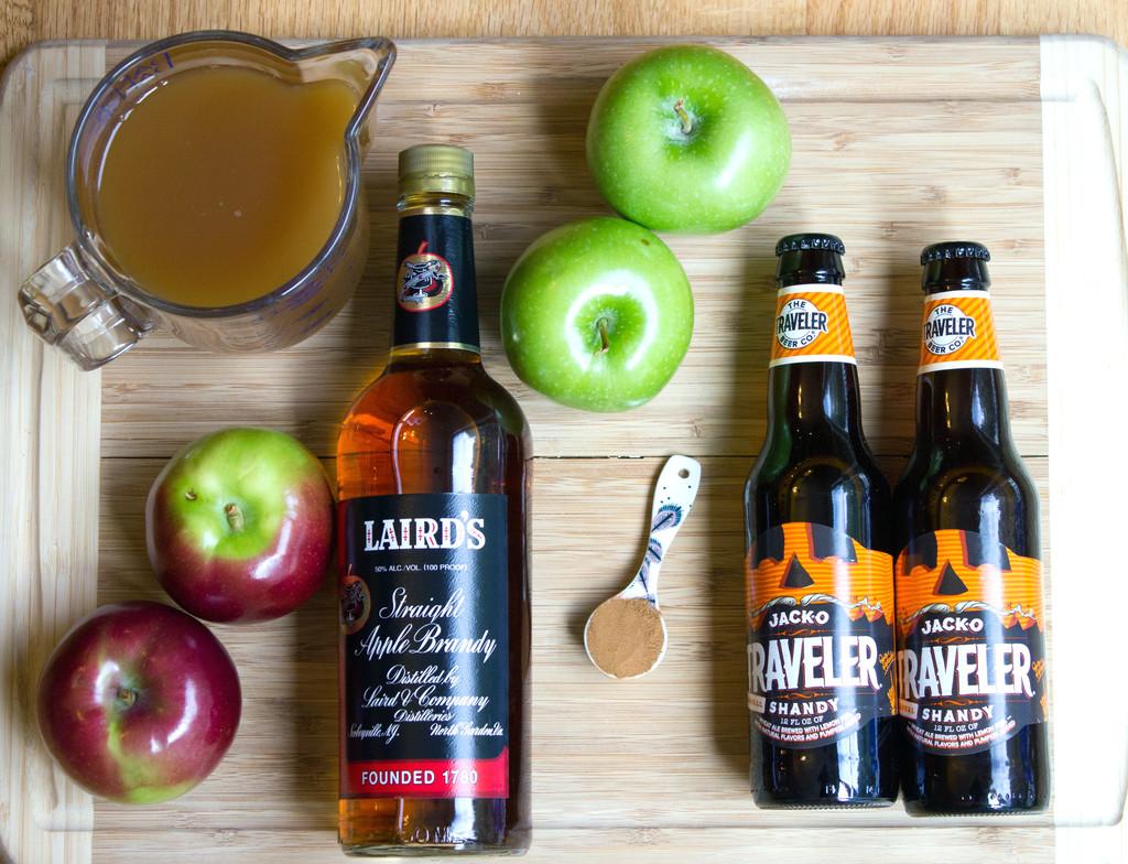 Apple Pumpkin Shandy Sangria Ingredients