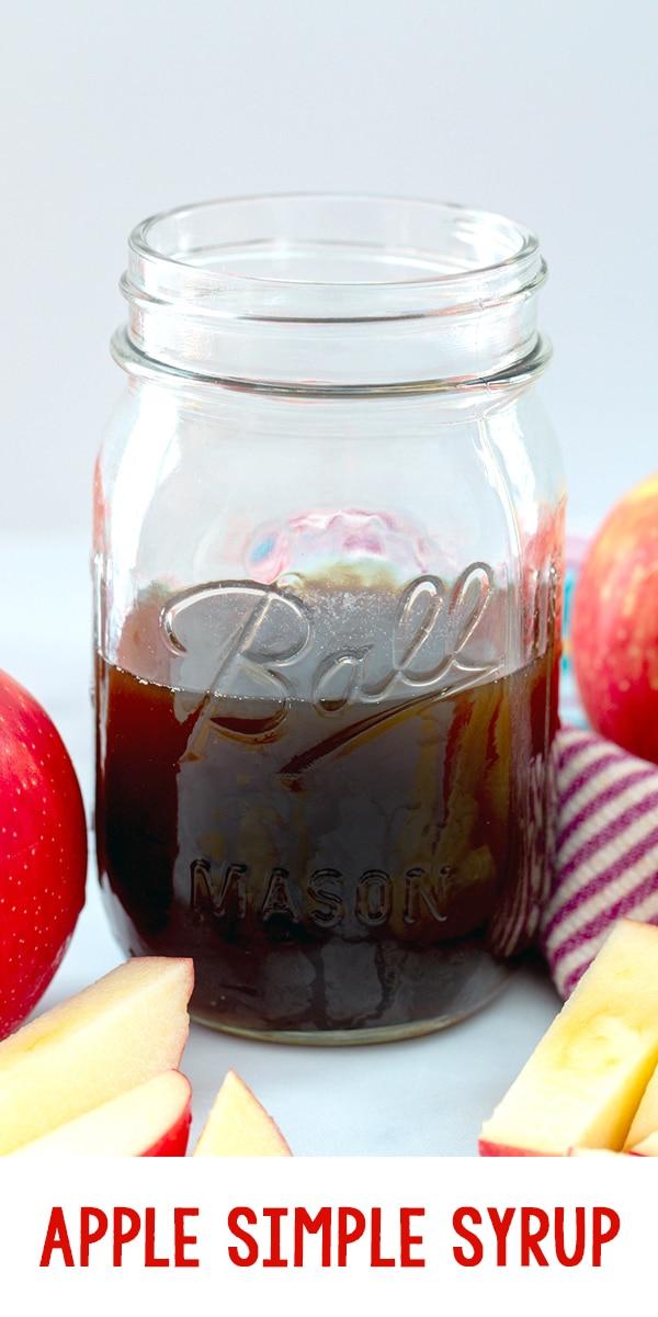 Apple Simple Syrup