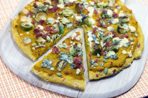 Autumn Butternut Squash Pizza with Pumpkin Crust 9.jpg