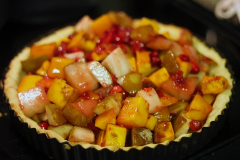 Autumn Tart-Squash-Cranberries-Pears-In-Tart.jpg