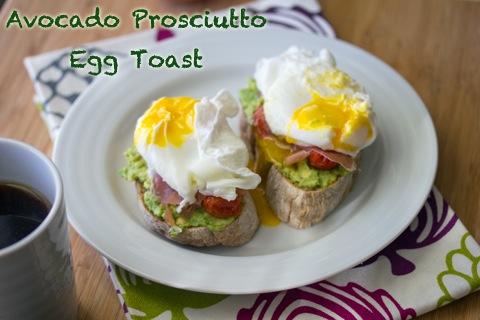 Avocado Prosciutto Egg Toast.psd