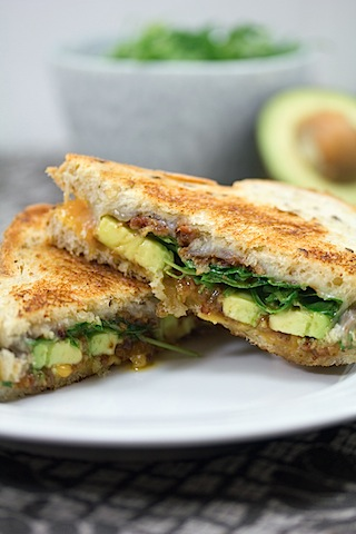 Bacon Jam Avocado Grilled Cheese (and a Land O'Lakes ...