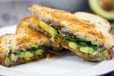 Bacon Jam Avocado Grilled Cheese (and a Land O'Lakes Giveaway!) | We ...