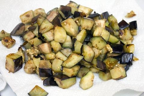 Baked Eggplant Orzo Eggplant Drain.jpg