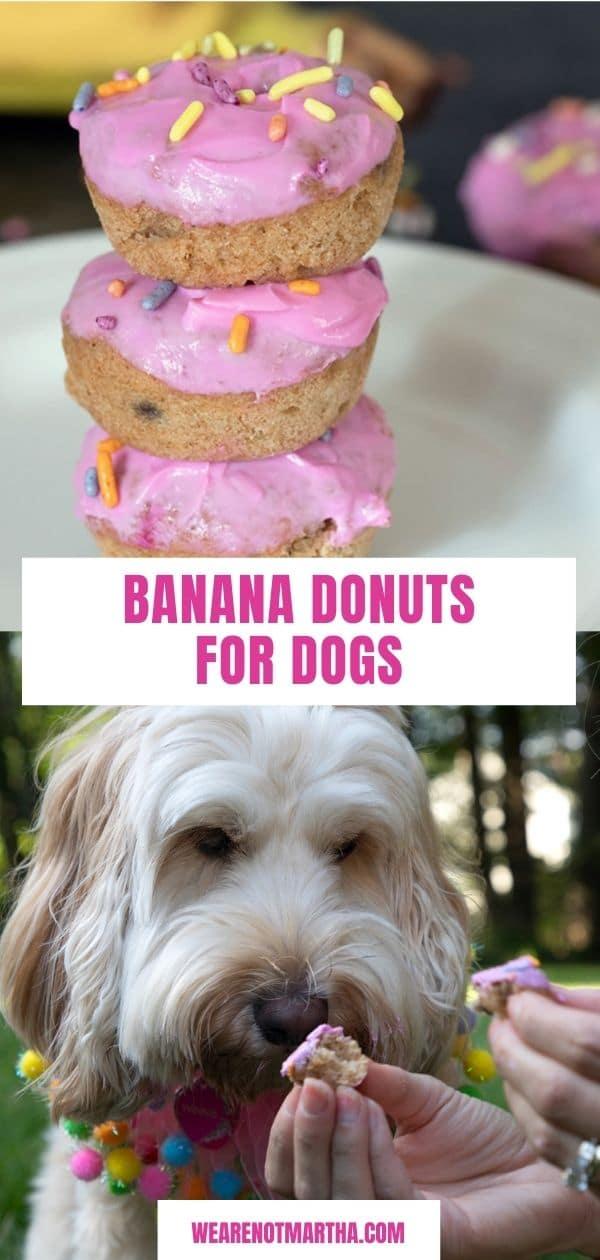 Banana Doughnuts for Dogs