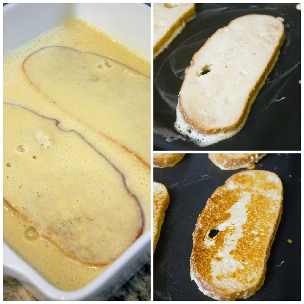 Banana-French-Toast-Making