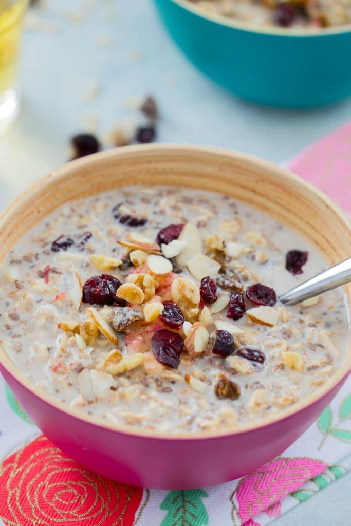 bircher muesli breakfast recipe we are not martha. Black Bedroom Furniture Sets. Home Design Ideas