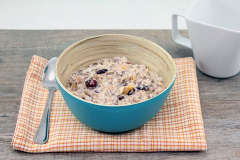 Bircher Muesli -- A breakfast cereal that's easy to make and fun to mix up | wearenotmartha.com