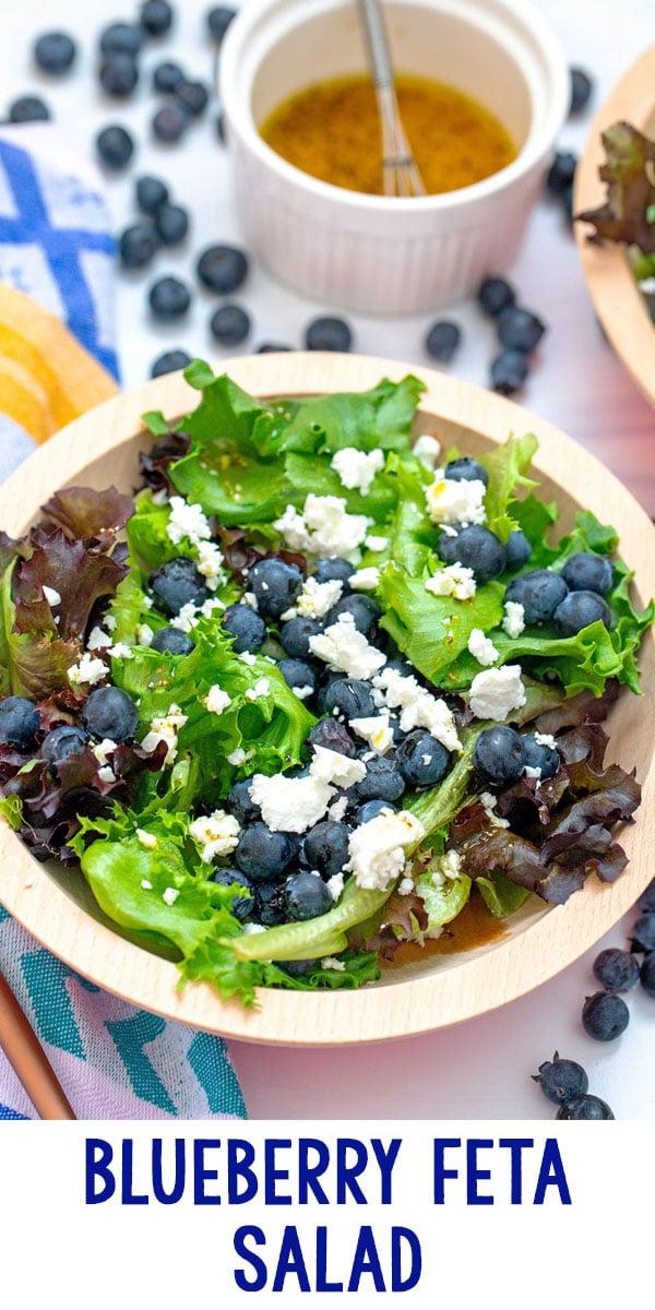 Blueberry and Feta Salad
