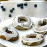 Blueberry Mojito Doughnuts