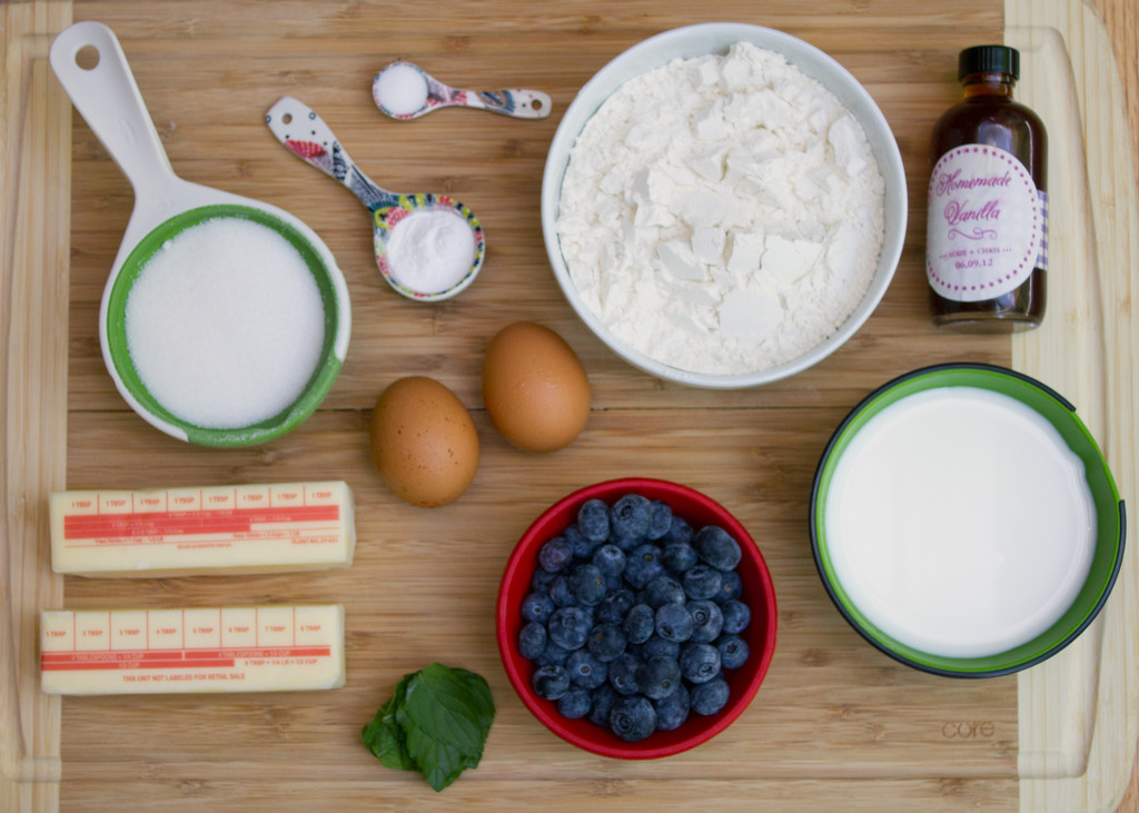 Blueberry Mojito Doughnuts Ingredients