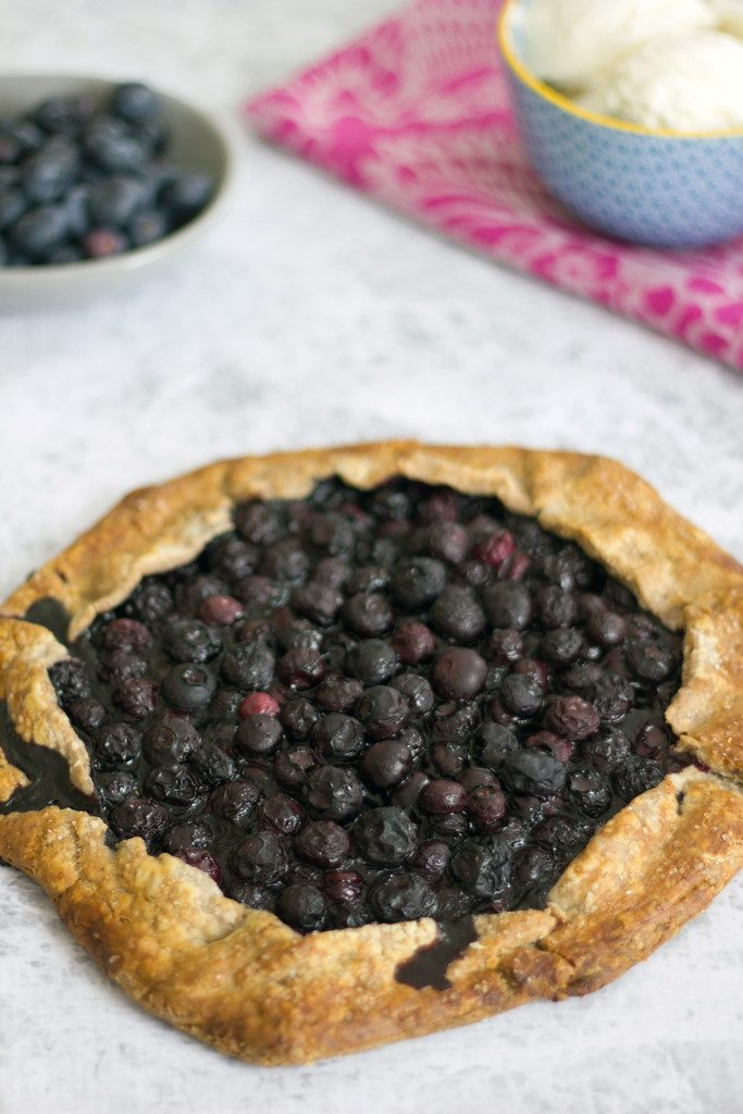 Blueberry Pecan Galette -- The most dreamy summer dessert | wearenotmartha.com