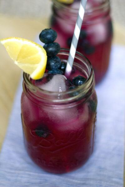 Blueberry Vodka Lemonade 2
