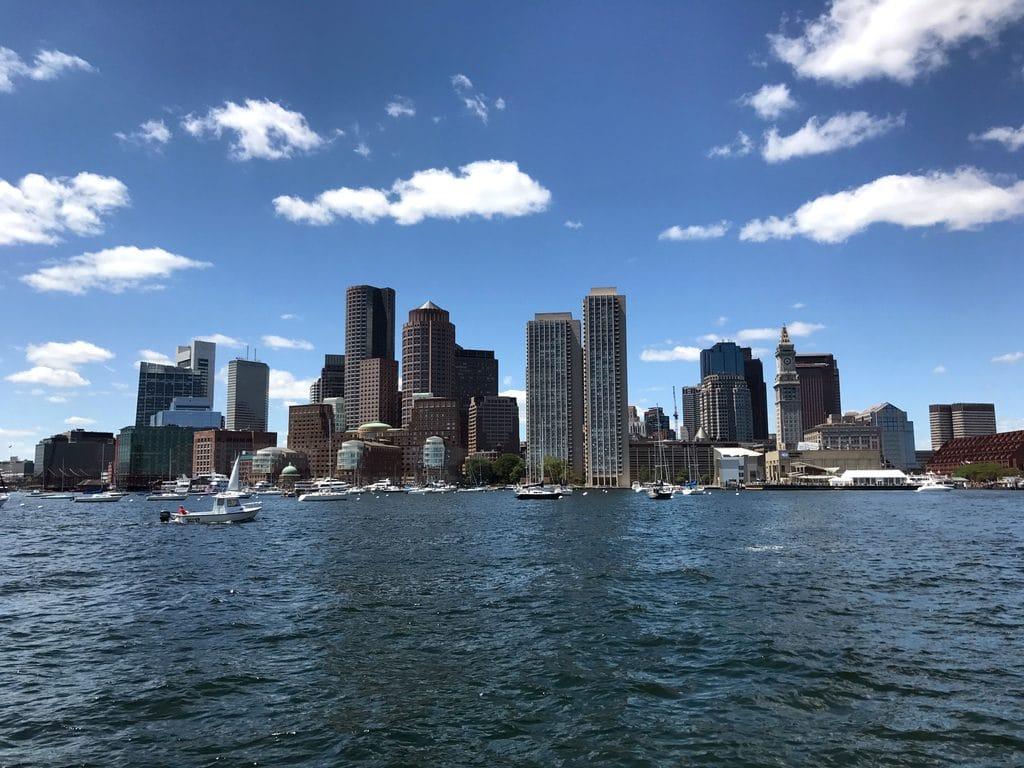 Views of Boston from Boston Harbor Cruise   wearenotmartha.com