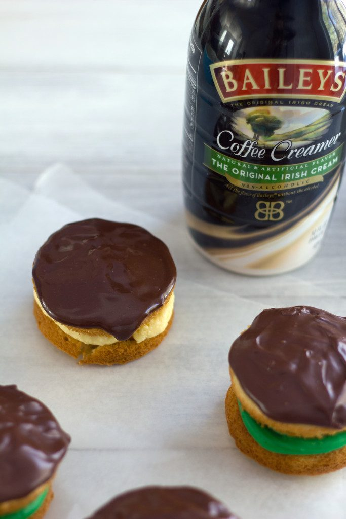 Boston Cream Whoopie Pies -- The best desserts of Boston combined into one | wearenotmartha.com