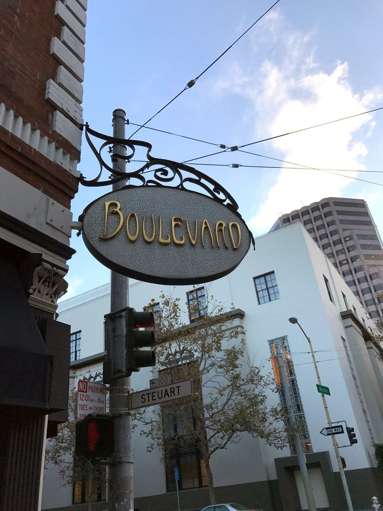 San Francisco and Wine Country Trip -- Boulevard Restaurant | wearenotmartha.com