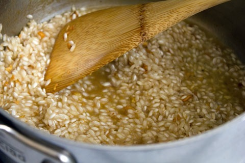 Breakfast Risotto Rice Chicken Broth.jpg