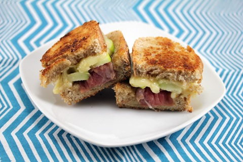 Prosciutto, Apple, And Brie Monte Cristos Recipe — Dishmaps