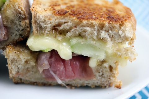 Brie, Roasted Tomato And Prosciutto Sandwich Recipe — Dishmaps