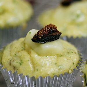 Brie and Fig Cupcakes