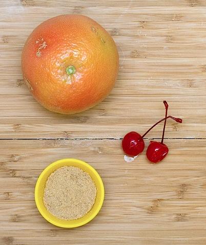 Broiled Brown Sugar Grapefruit Ingredients.jpg