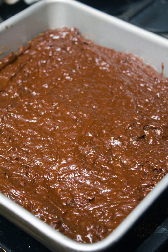 Brownie Batter Unbaked