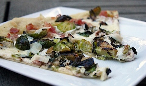 Brussels Sprout and Pancetta Flatbread