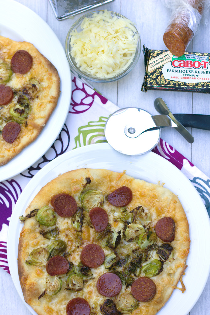 Brussels Sprouts and Pepperoni Flatbread 11