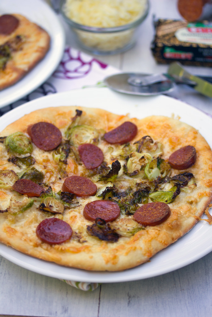 Brussels Sprouts and Pepperoni Flatbread 17