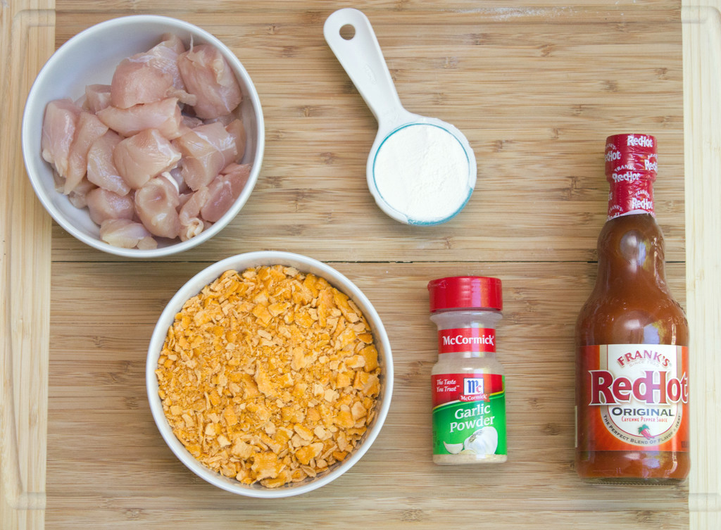 Buffalo Cheez-It Chicken Ingredients